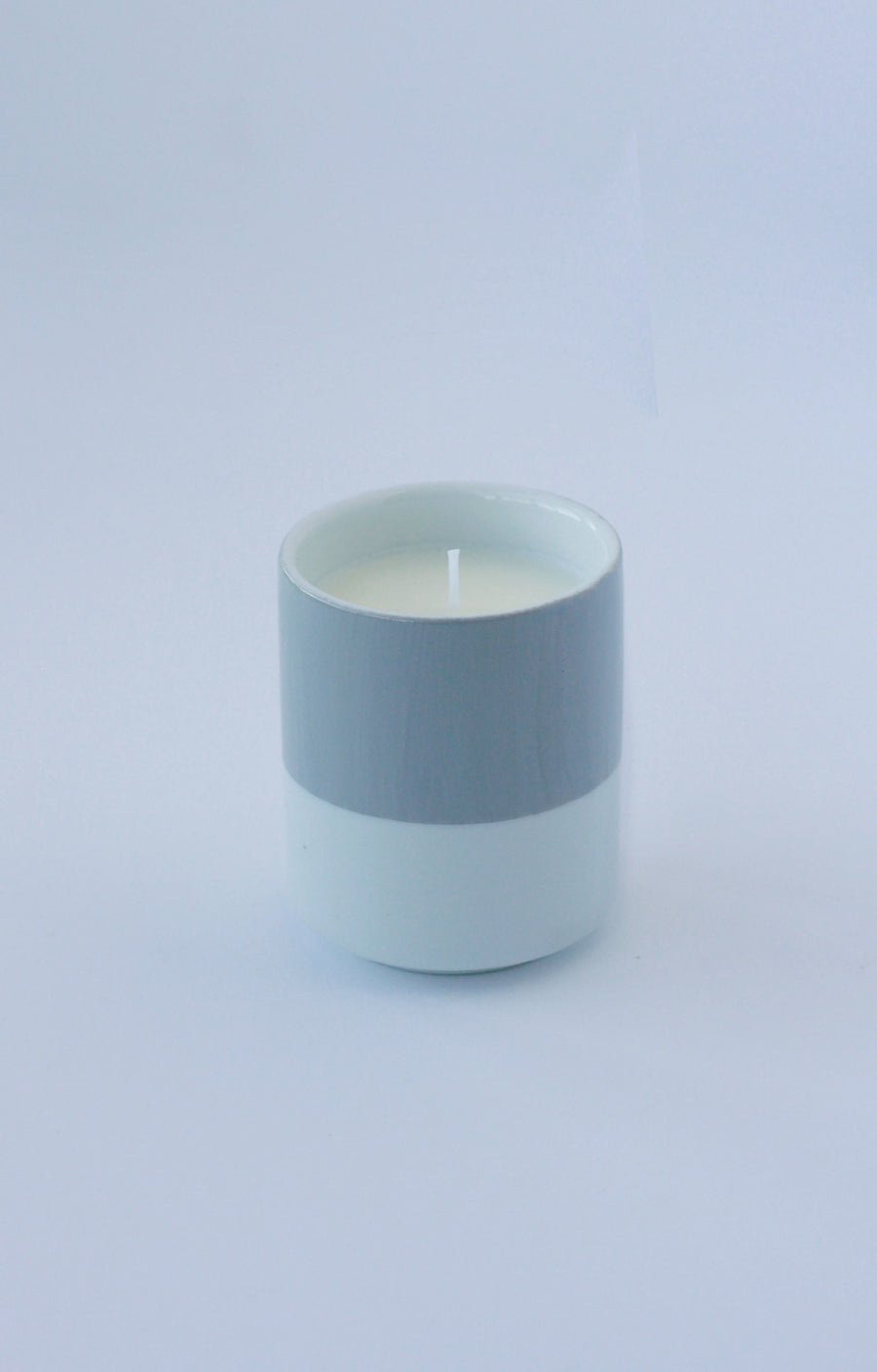 Hand Painted Porcelain Soy Candle