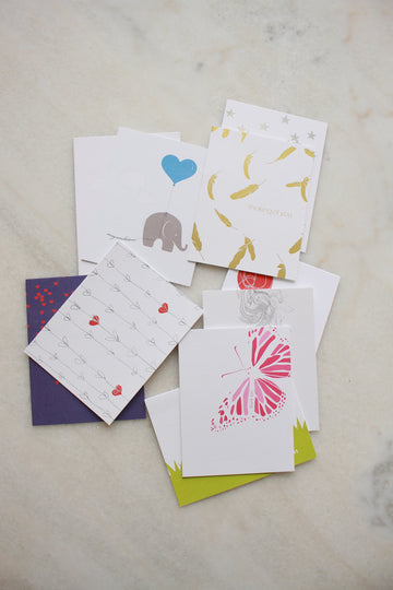 Emergency Set of Greeting Cards