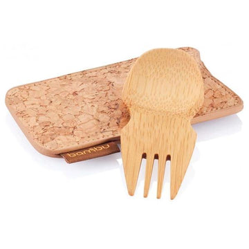Spork in a Cork Case