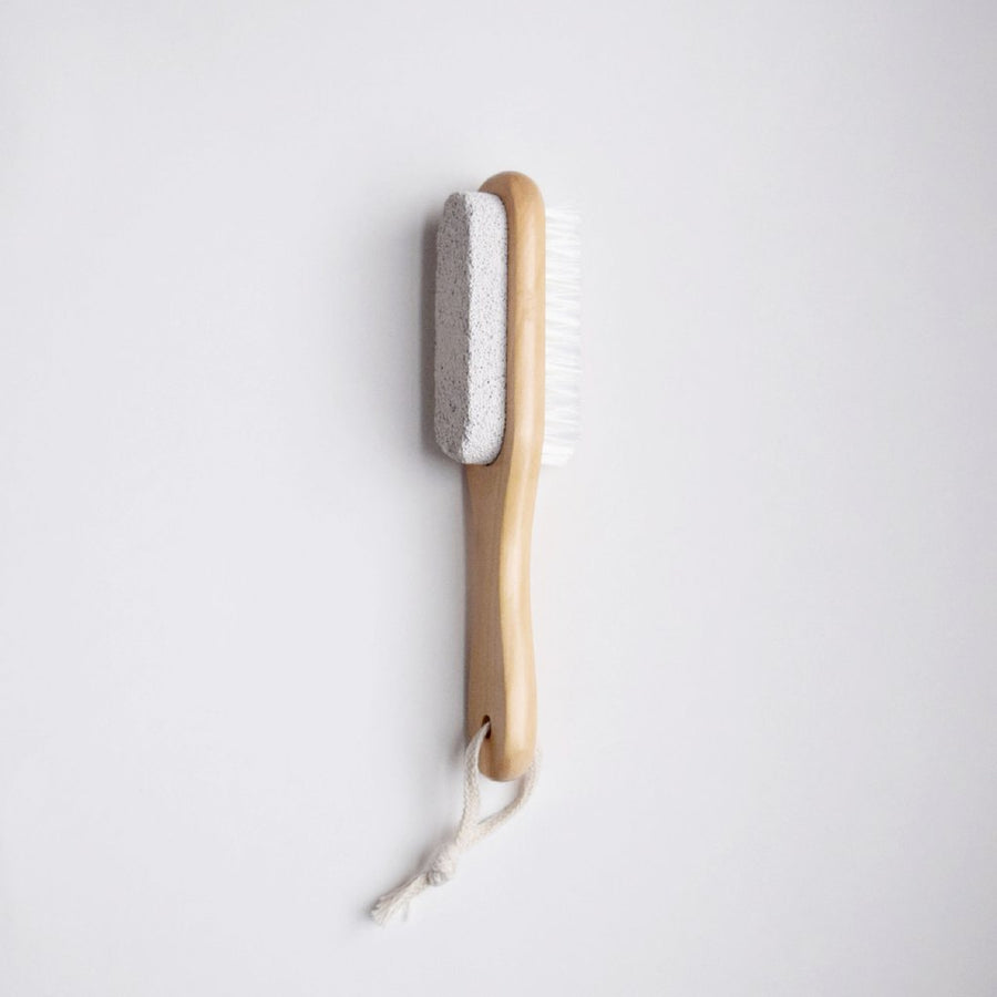 Wooden Pumice Brush
