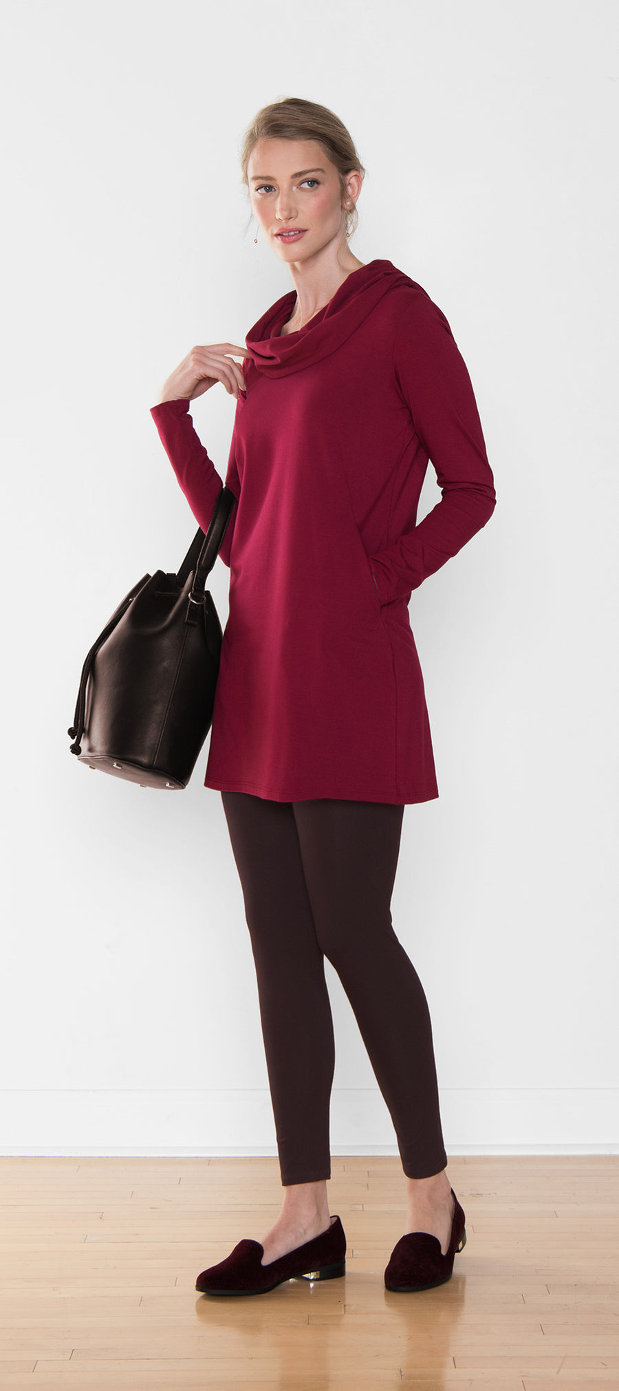 Charlene Hooded Tunic