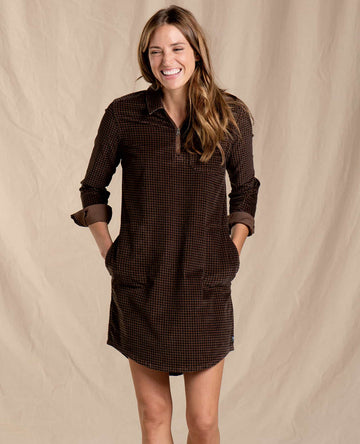 Cruiser Cord Popover Dress