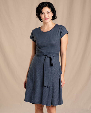 Cue Wrap Short Sleeve Dress