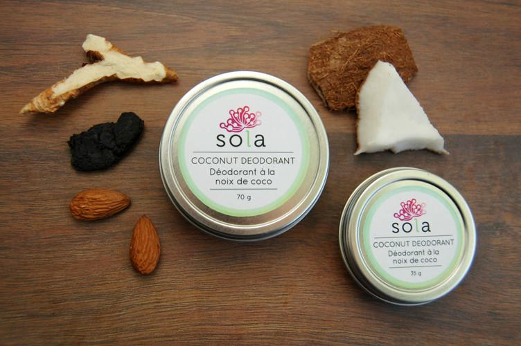 Assorted Coconut Deodorants
