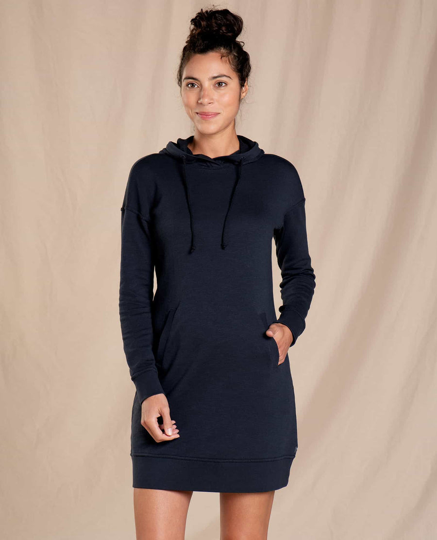 Follow Through Hooded Dress