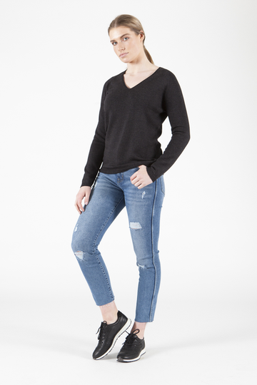 Isla V-Neck Sweater