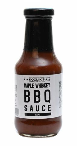 Maple Whisky BBQ Sauce