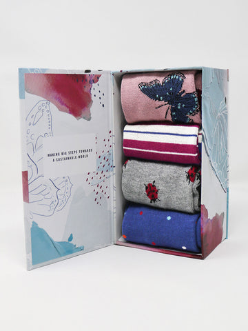 Ellie Wildlife Sock Box