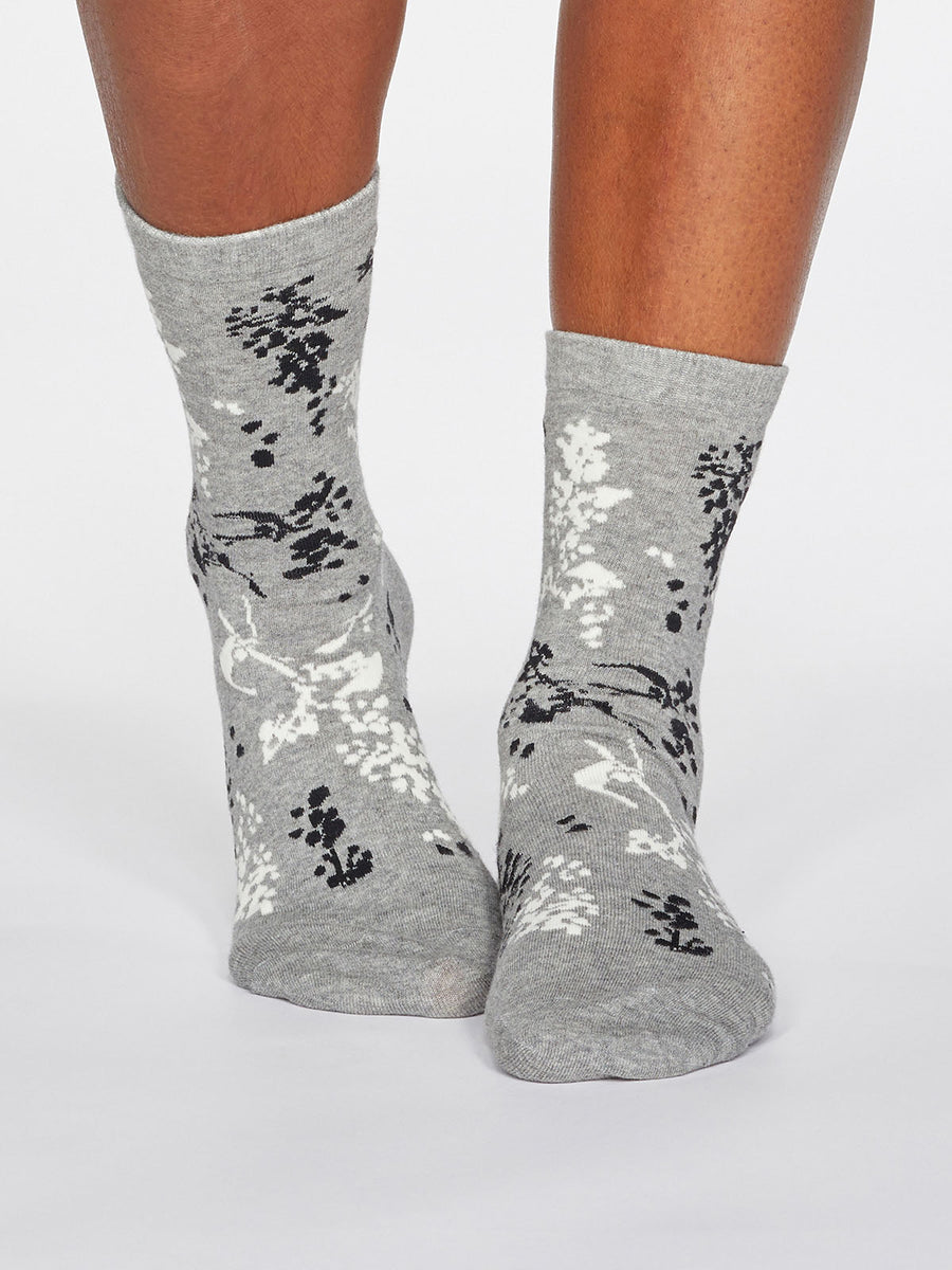Orpha Floral Socks