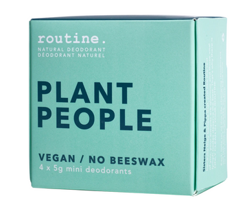 Plant Peoples Natural Deodorant Minis Kit