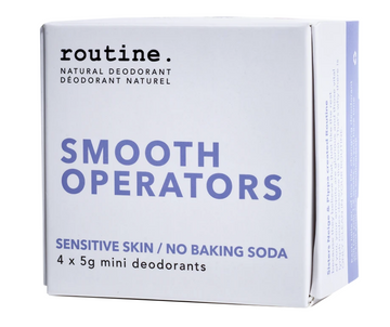 Smooth Operator Natural Deodorant Minis Kit