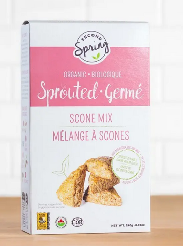 Organic Sprouted Grains Scone Mix