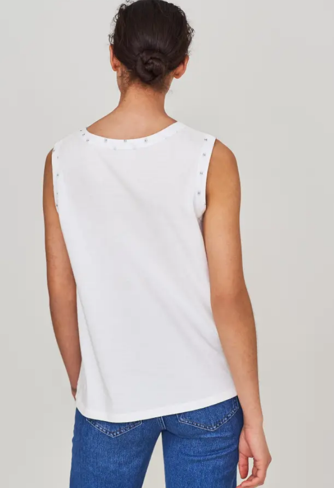 Mythical Jersey Sleeveless Top
