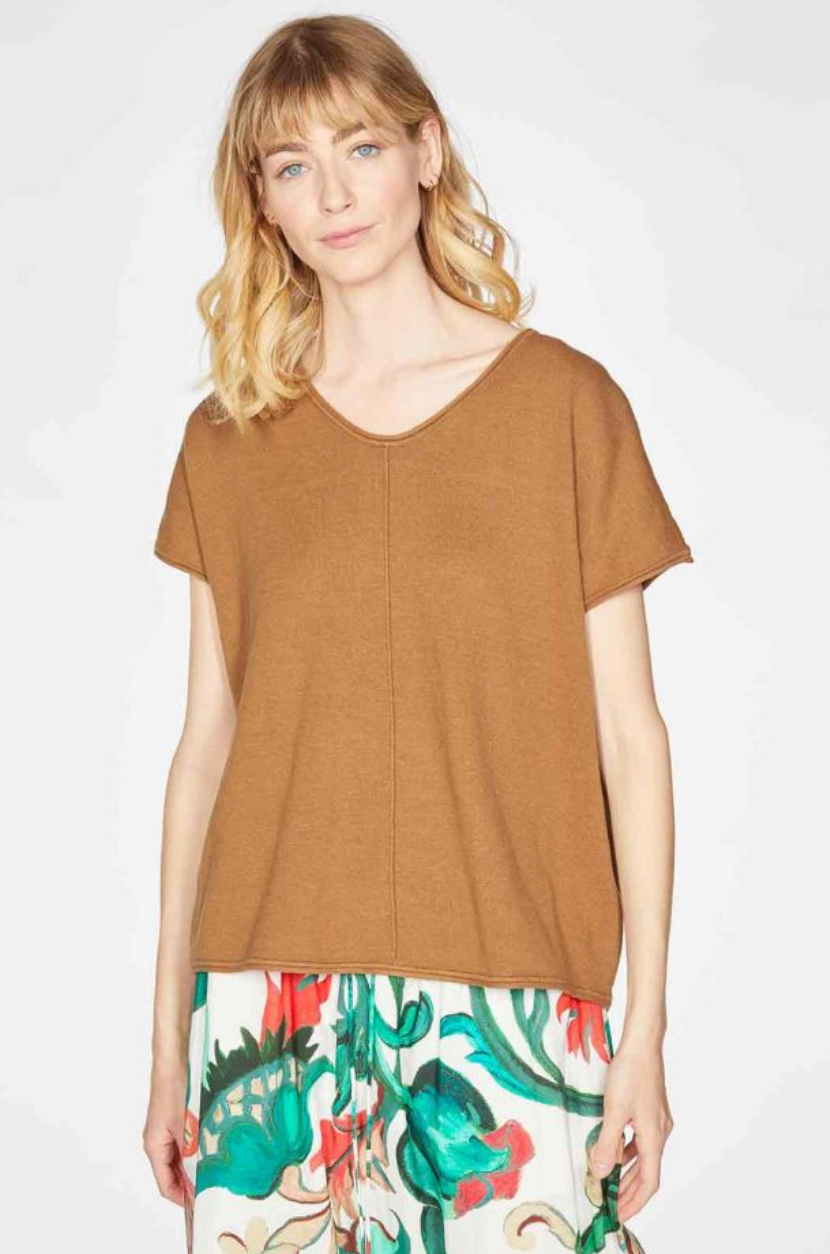 Faye Short Sleeve Sweater