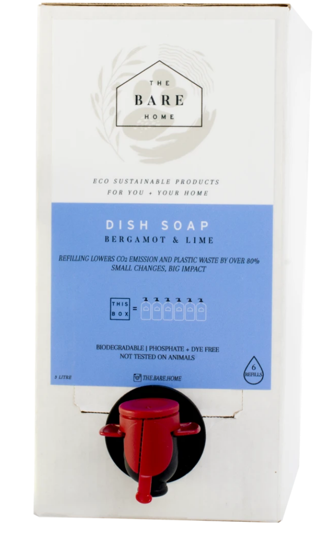 Bergamot + Lime Dish Soap