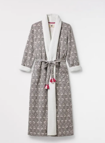Whimsical Long Fluffy Robe