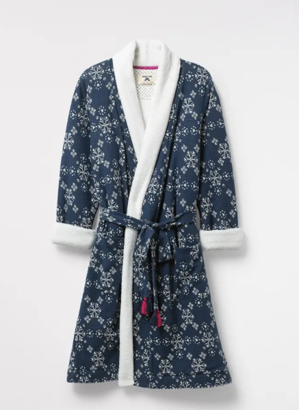 Starry Hearts Fluffy Robe