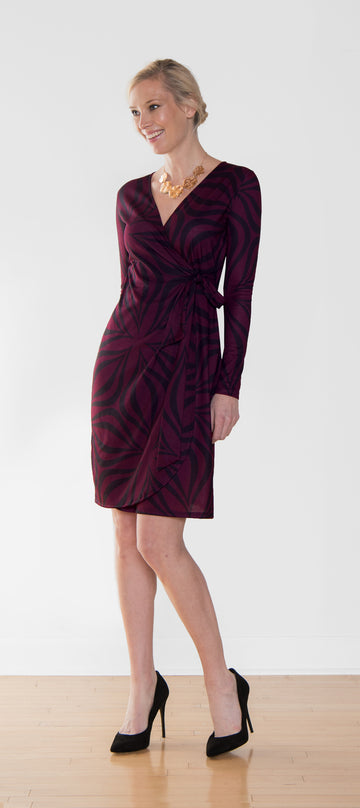 Sale Sonya Wrap Dress