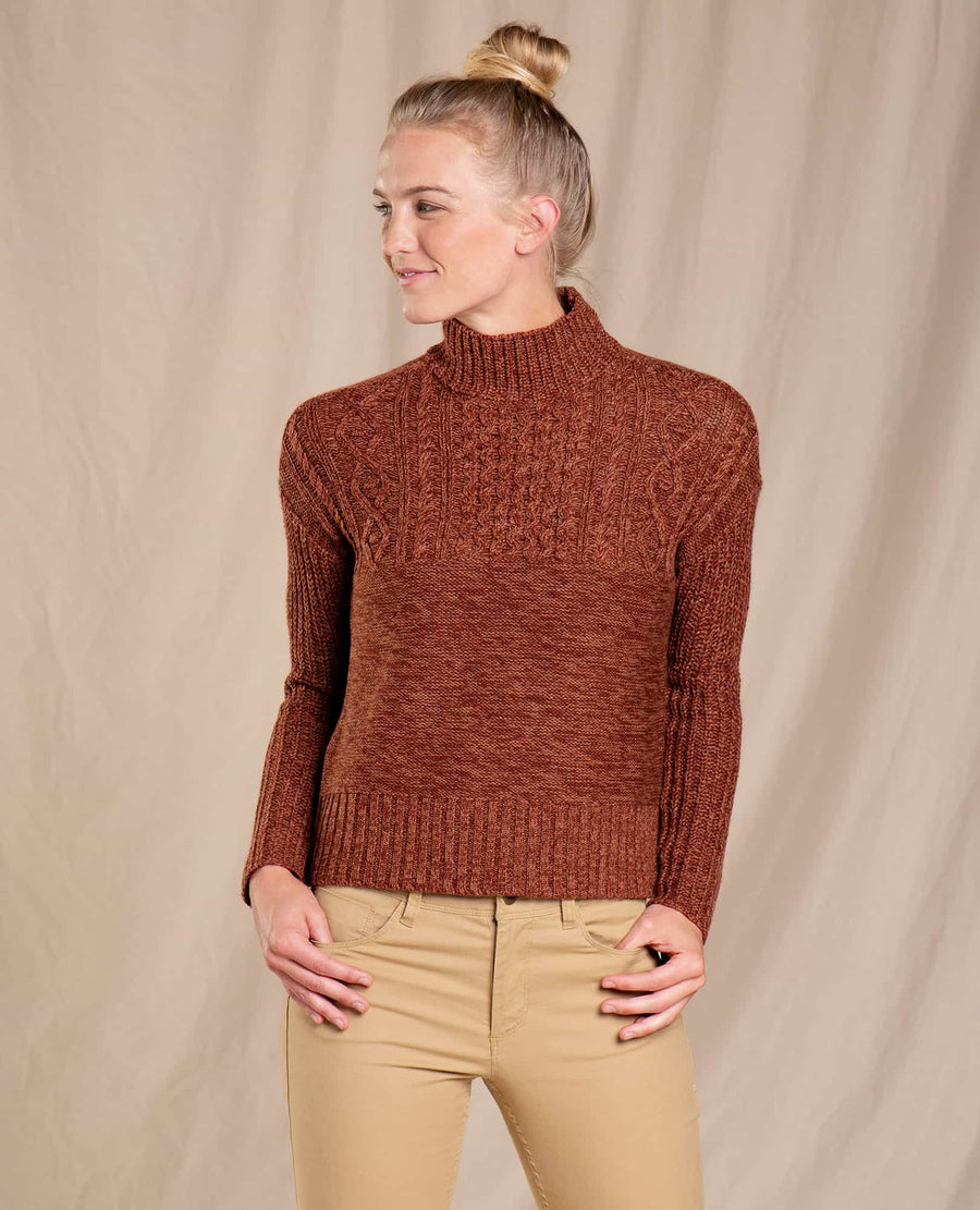 Tupelo Cable Sweater