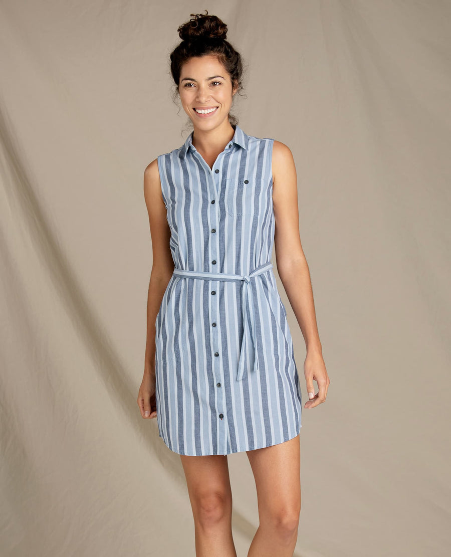 Indigo Ridge Tie Dress