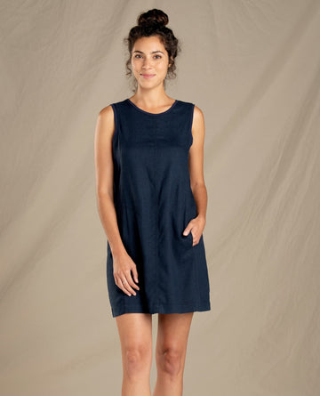 Tara Hemp Sleeveless Dress