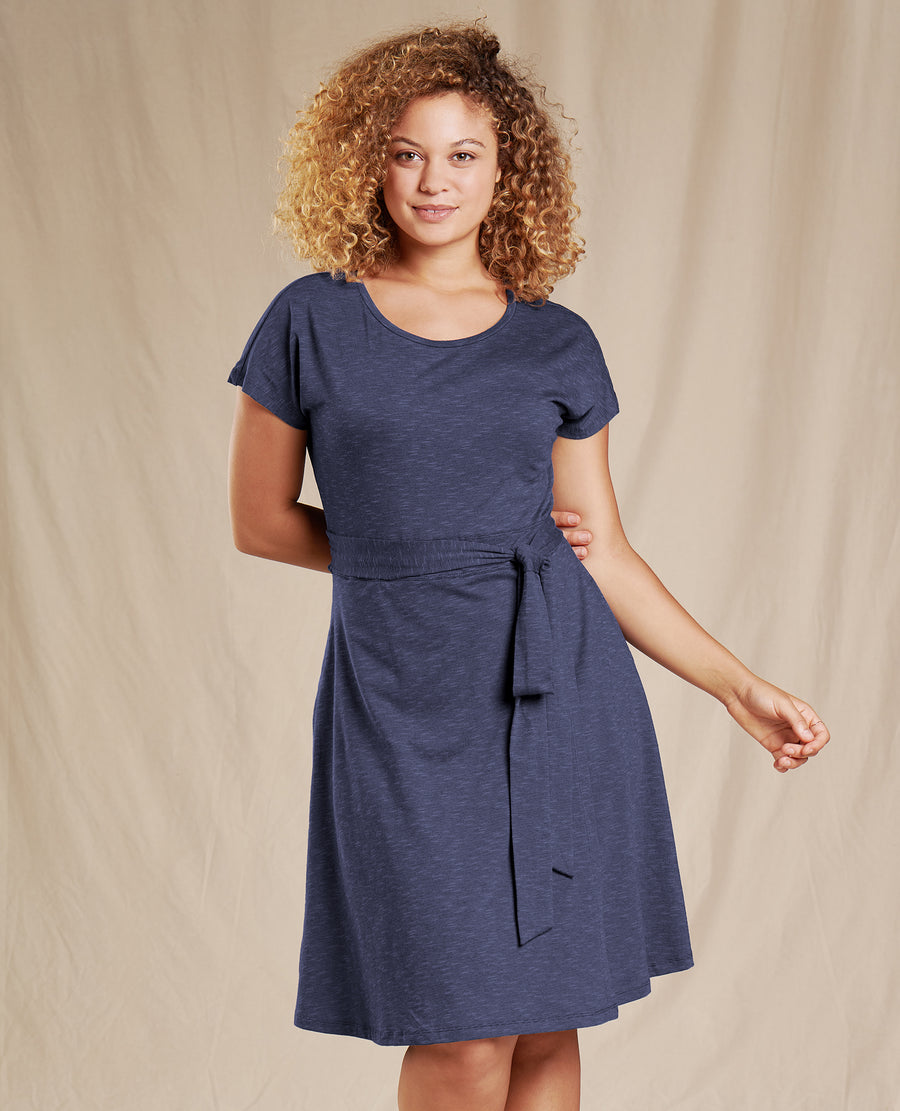 Cue Wrap Short Sleeve Dress Summer Sale