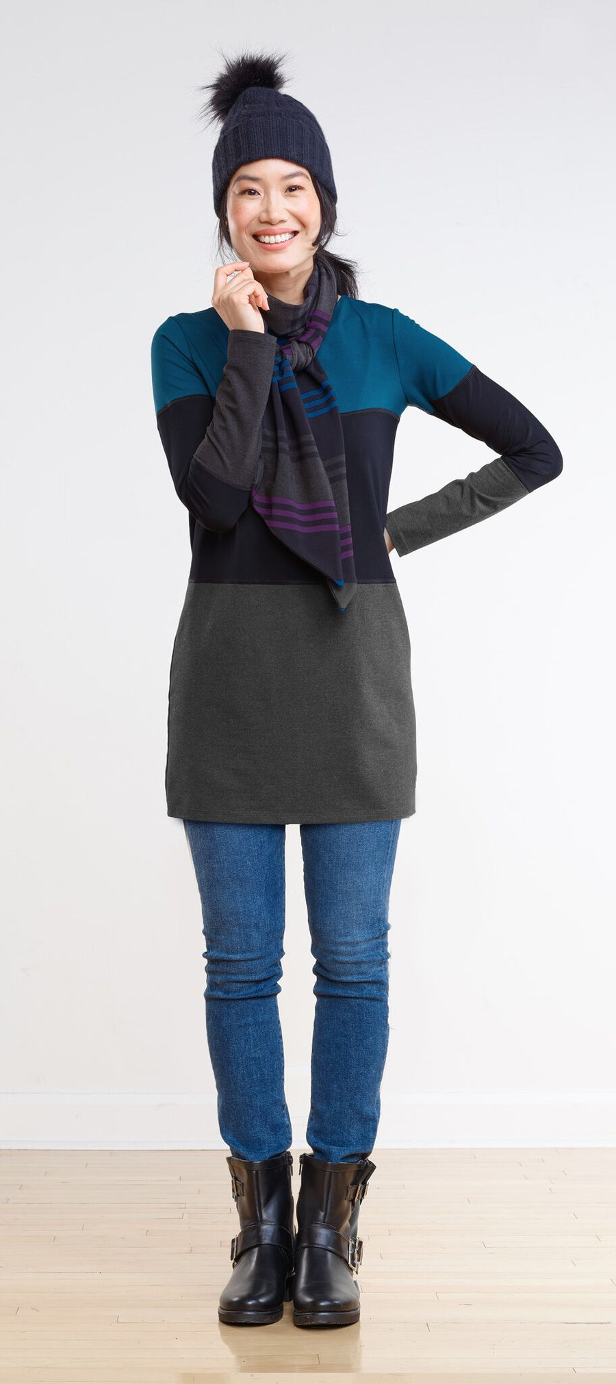 Kennedy Colour Block Tunic