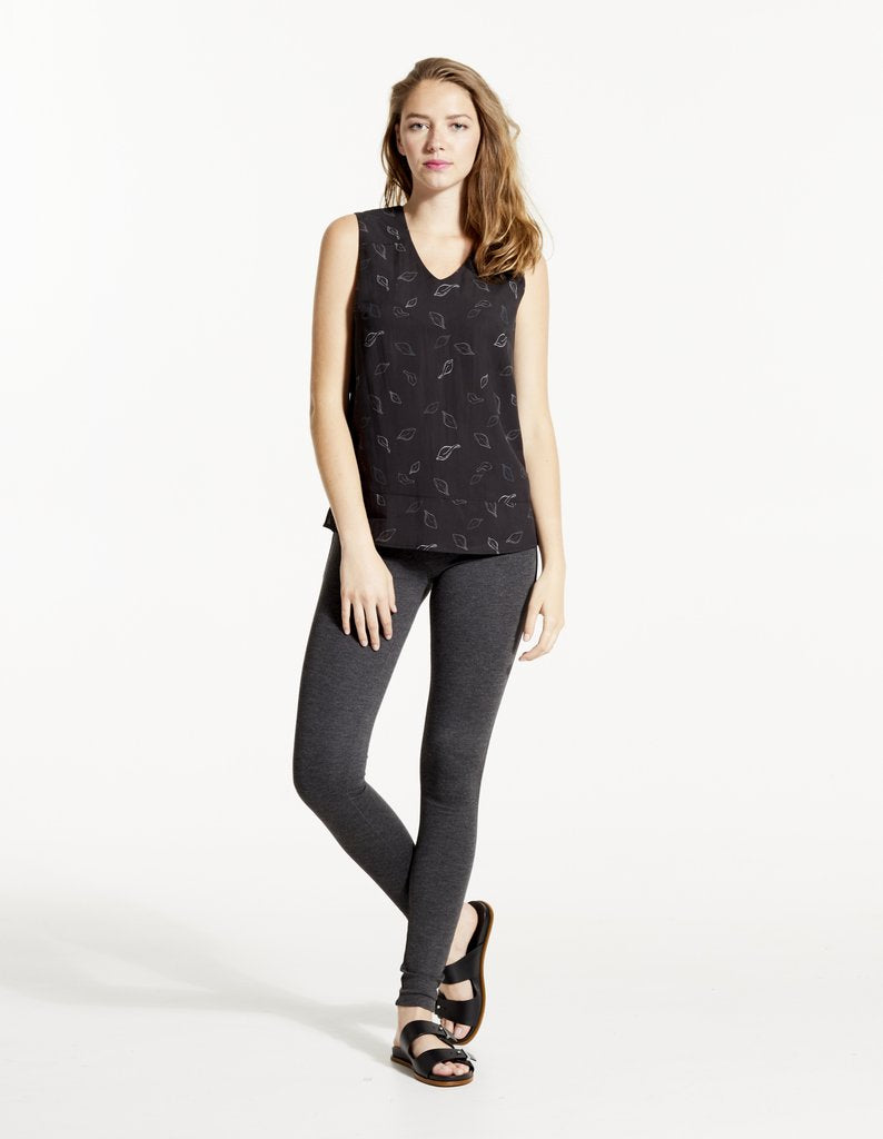 VEE Sleeveless Top