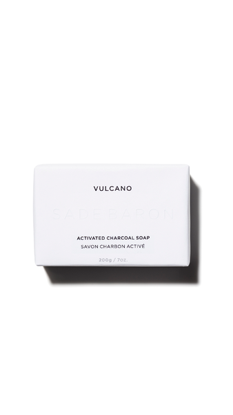 Vulcano Activated Charcoal Soap