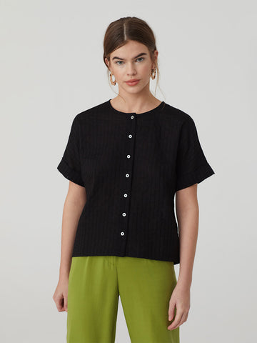 Hemstitch Top