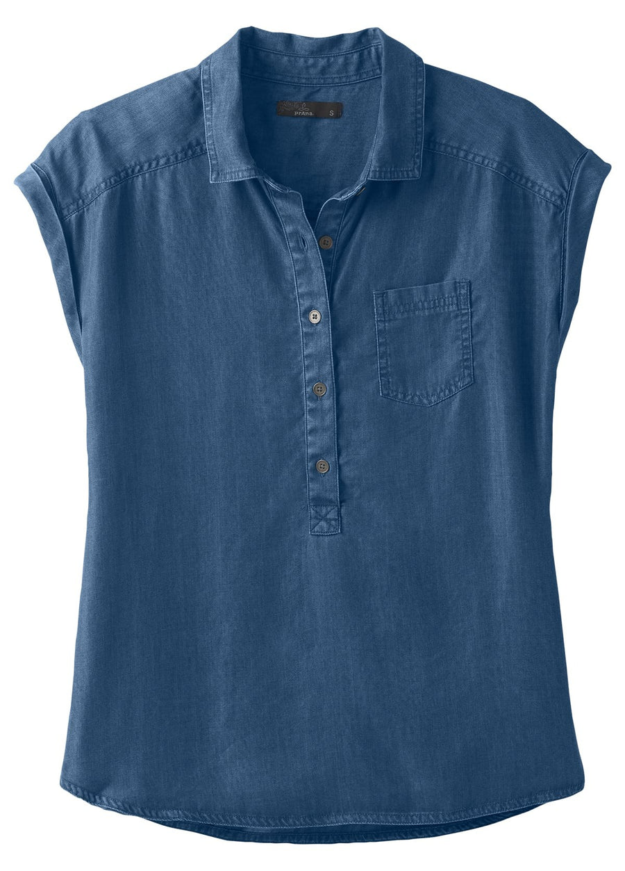 Azul Short Sleeve Top