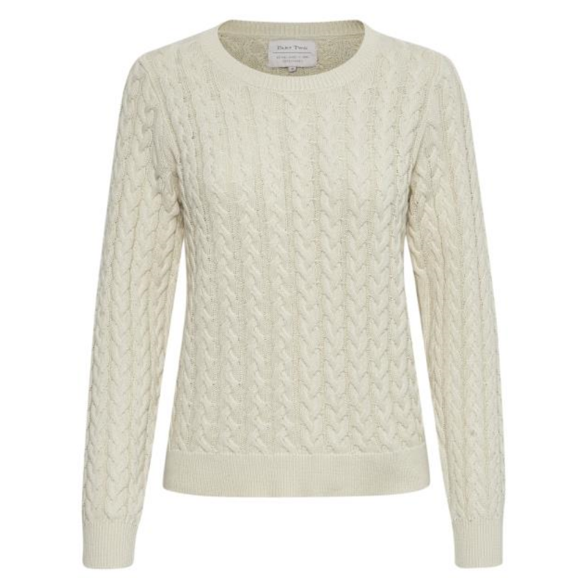 Thora Organic Cotton Cable Knit
