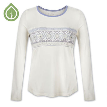 Nordic Border Long Sleeve Pyjama Top