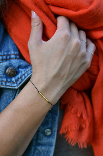 Live in the Sunshine Reminder Bracelet
