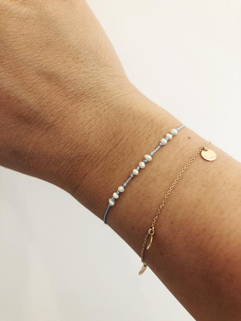 The Power of the Sea - Pearl Reminder Bracelet