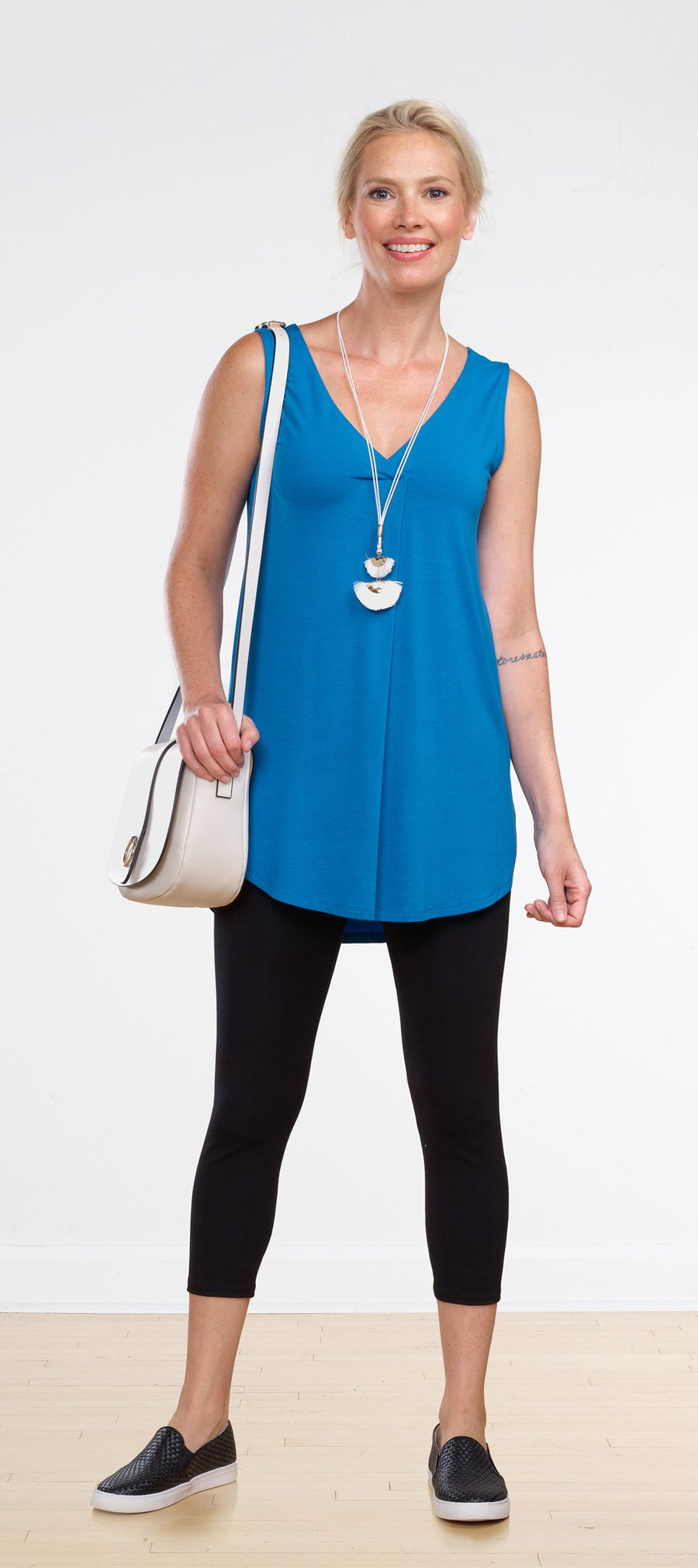 Maria Pleated Tunic