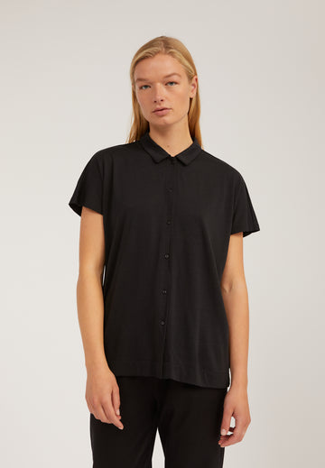 Nalaa Short Sleeve Blouse