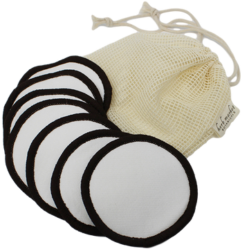 Bamboo Cotton Reusable Facial Pads