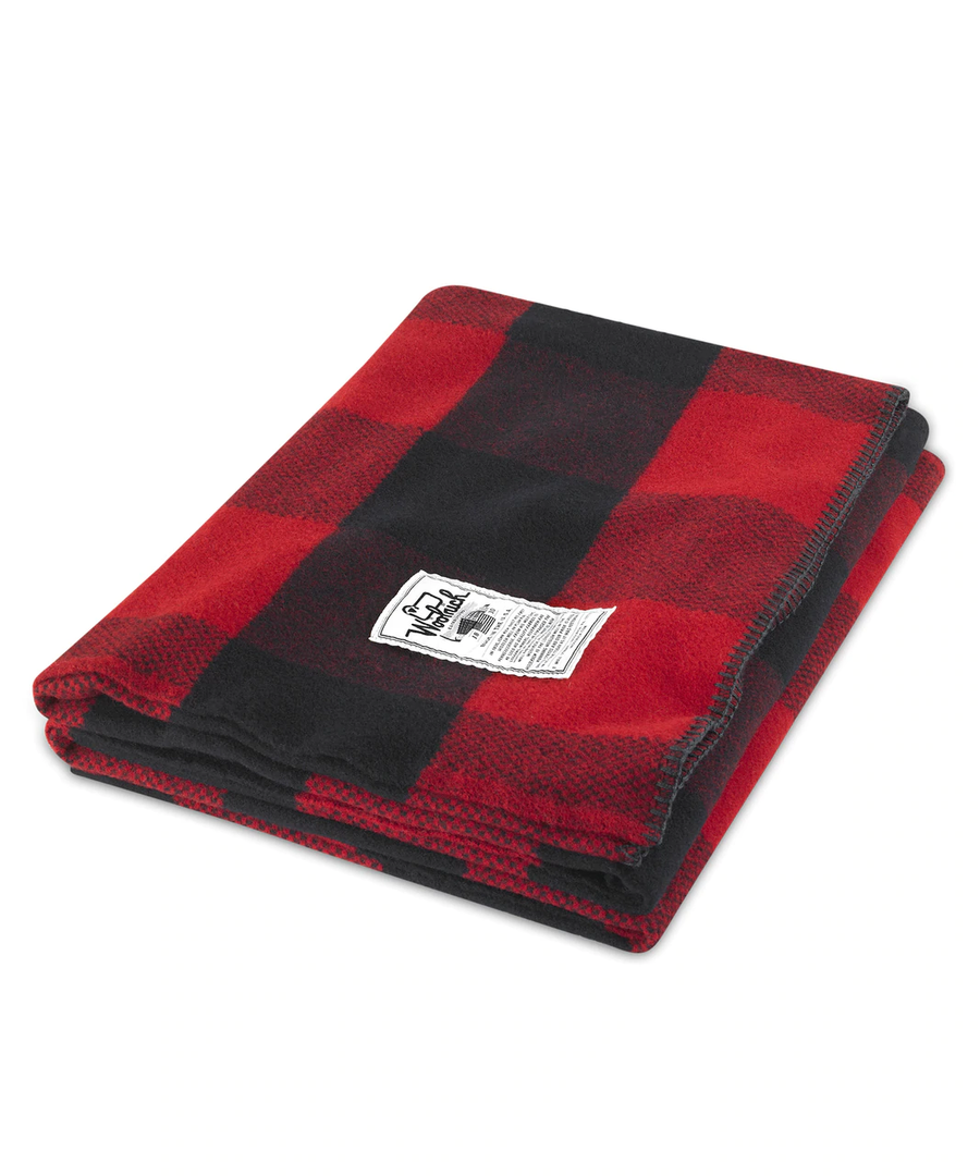 Seven Springs 100% Wool Blanket
