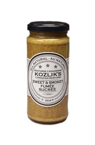 Sweet and Smoky Mustard