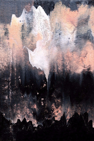 Ghost in the Mountains by Jules Tillman - Modern Abstract Prints
