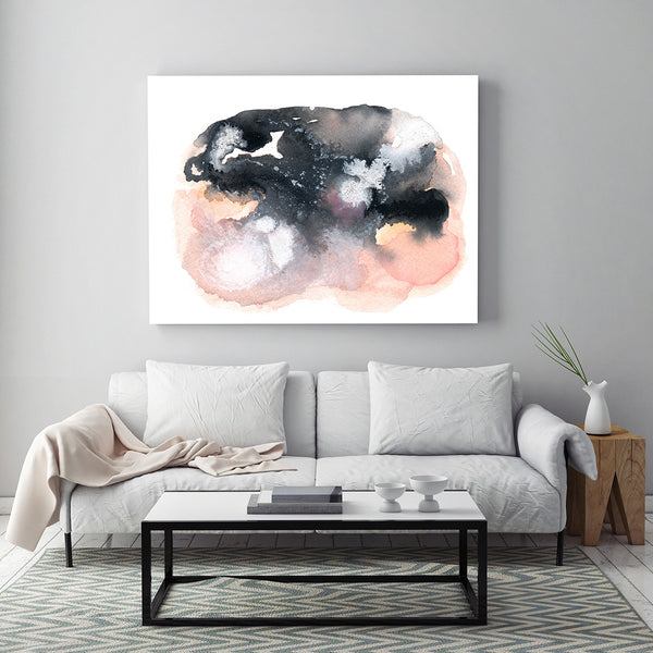 Clearing by Jules Tillman - Fine Art Abstract Watercolor Paintings