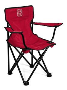 NC North Carolina State Wolfpack Fold Up Canvas Chair – Toddler Size
