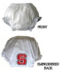 NC North Carolina State Wolfpack Diaper Cover