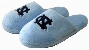 North Carolina Tar Heels Slippers- Terry Cloth Covered Toe