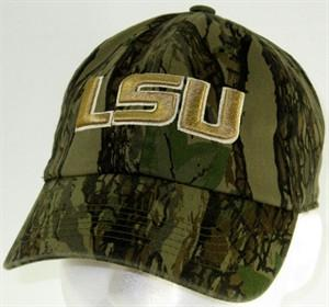 LSU Tigers Cap – Washed Twill Camouflage