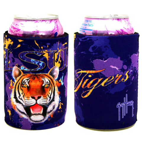 LSU Tigers Coozie- Guy Harvey Neoprene Can