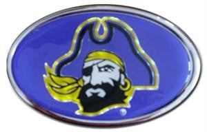 East Carolina Pirates Car Medallion