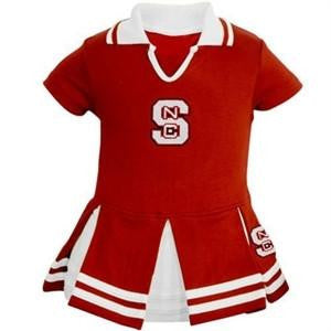 NC North Carolina State Wolfpack Cheer Dress, Toddler