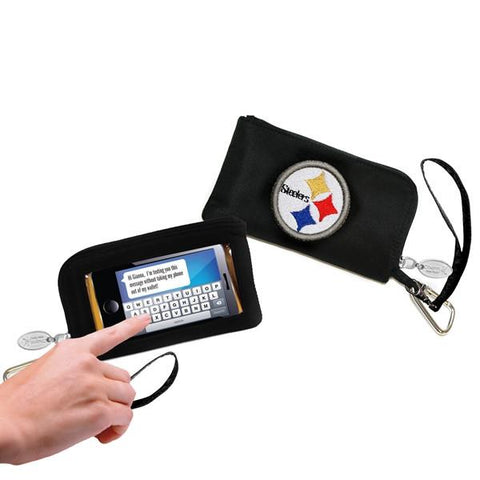 Pittsburgh Steelers Phone Wallet with Wristlet